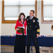 LDFR Finance Manager Mary Hartley receives the Chiefs Award from Chief Jeff Berino